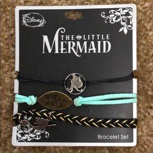 Disney Little Mermaid Bracelet Set